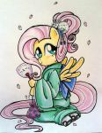 Ohanami Fluttershy By Matsuban-d60k9 by luckyangel03