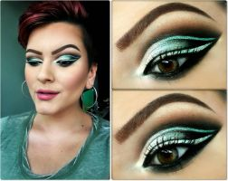 Teal with envy by KatelynnRose