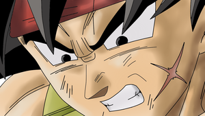 Bardock coloured .:Lineart 58:. by Evil-Black-Sparx-77