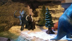 Dinosaur Table Project: 14  Ice Age by Gorpo