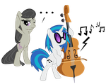 Vinyl Scratch x Octavia Part 2 by Jaelachan