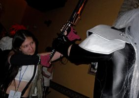 Tifa vs. Sephiroth by InnocentWsh