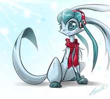 Glaceon by Ripli2011