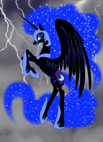 Cry of the Nightmare by WhiteWing1