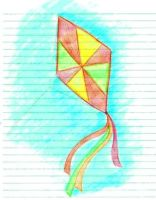 The kite by KanaGo
