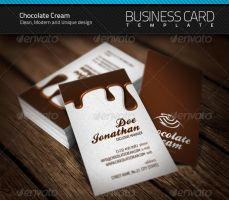 Chocolate Business Card by artnook