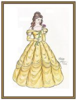 Belle - Colored by WindsweptSummer