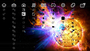 Solar Flare PS3 Theme by radicalTERRA