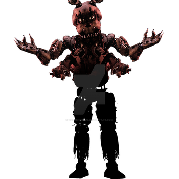FNAF - New Teaser Unknown Animatronic's Full Body by GoldenNexus