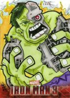 Iron Man 3 - Hulk (android) by 10th-letter