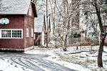 Winter in Connecticut by iamthejabberwock