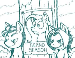 Bernd01 Season (sketch) by LateCustomer