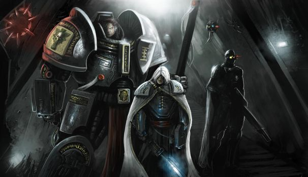 40k: an Inquisitor, Assassin, and GK walk into a.. by Michael-Galefire