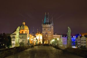 Charles Bridge, Prague by JuliaRemesova