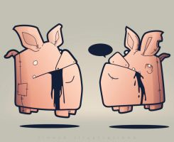 Pigs by linnch
