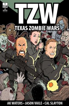 Texas Zombie Wars #1 by calslayton