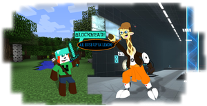 Fanboy Faceoff: Minecraft vs. Portal by CKToonStudios