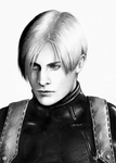 Leon S. Kennedy Re4 representation by Naoanastas