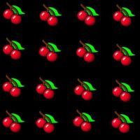 Cherry background by femme-owl