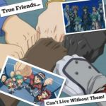 YuGiOh 5Ds Wallpaper: ~True Friends~ by XxXxRedRosexXxX