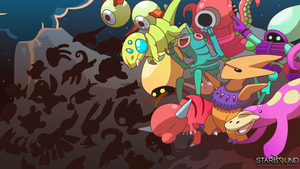 Starbound - Monster Bash by Dragonith