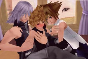 When Roxas is here by tifany1988