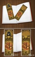 Bookmarker project -Seasons I.- by KungfuHamster