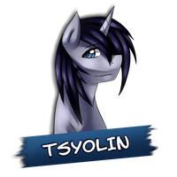 Nameplate: Tsyolin by miss-mixi