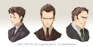 BACCANO characters part 13 by NicoleCover