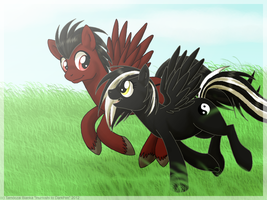 Request - On The Field by InuHoshi-to-DarkPen