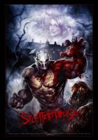 SPLATTERHOUSE SDCON poster by Dave-Wilkins