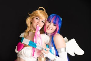 Panty and Stocking - Fun with underwear by Kythana