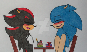 .:Day 27 - On one of their birthday:. by sonAdowfangirl96