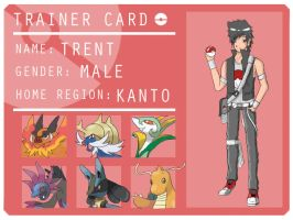 Pokemon Trainer: Trent by NeroTekaimru23