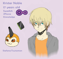 : TDW - NPC Krister Noble : by cocoasaurus