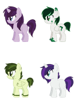 [OPEN] - Mossy Falls X Lovely Locks by Featheries