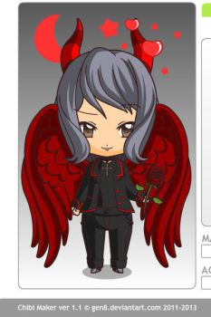 Chibi Lucifer by Beyworld101
