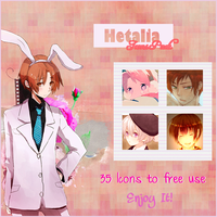 Hetalia Icons Pack by carter963