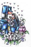 I Love my babies Soundwave, Frenzy and Rumble 8D by Idigoddpairings