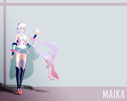 Maika wallpaper by Vanmak3D
