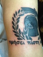 23rd tattoo: left side by Vibrace