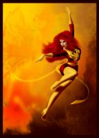 Dark Phoenix by TheSwanMaideN