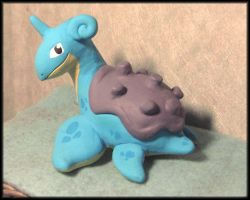 Lapras Sculpture by HollieBollie