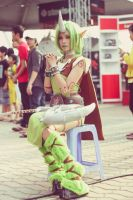 League of legends - dryad Soraka by hatechuu
