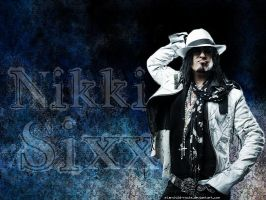 Nikki Sixx.. by starchild-rocks