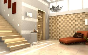 Room with Stairs by capsat