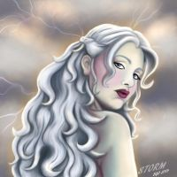 Storm by papermuse