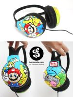 Nintendo Headphones by Bobsmade