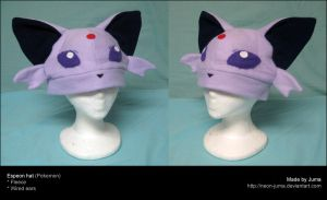Espeon hat 3 by Neon-Juma