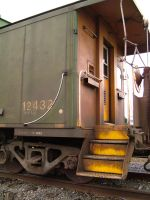 train yard 12 - caboose by JensStockCollection